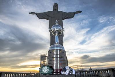 No Maracanã, Palmeiras e Santos decidem título da Conmebol Libertadores 2020