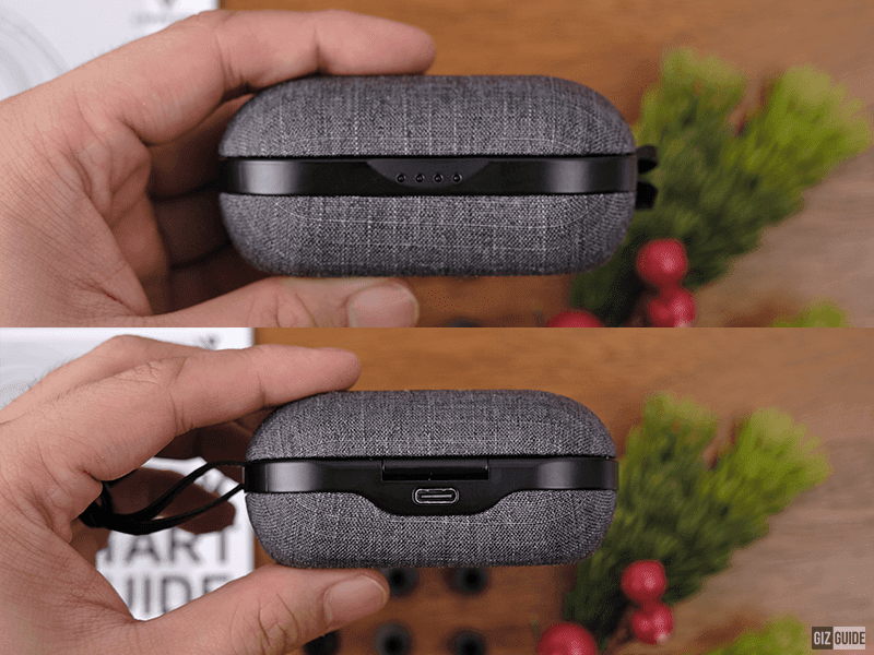 Case front and back sides