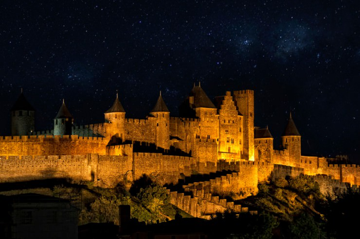 3. Carcassonne, France - Top 10 Medieval Towns in the World