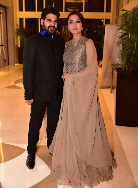 Arvind Munjal with Makeup Expert Aashmeen Munjal-