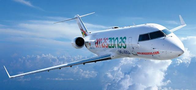 Amaszonas inauguró dos nuevos vuelos desde Bolivia y Uruguay
