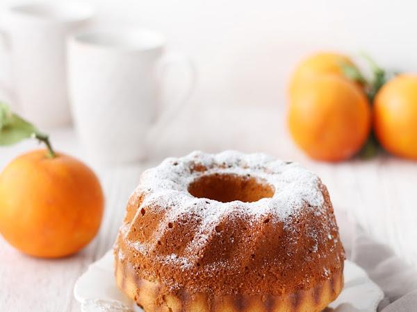 Ciambella ricotta e arancia