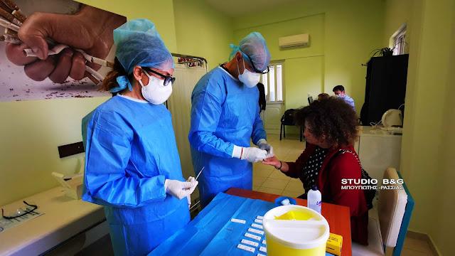 Με τεστ αντισωμάτων στο Ναύπλιο η επιστροφή των σχολικών καθαριστριών στις τάξεις (βίντεο)