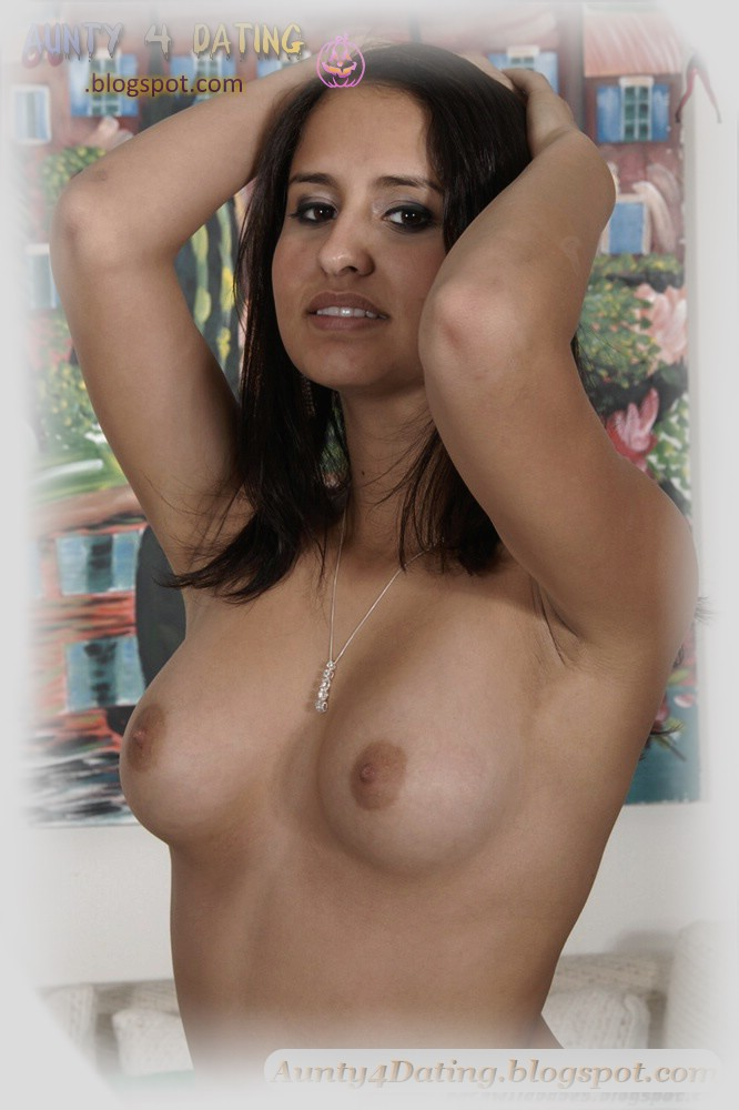 Naked huge big round fake boobs
