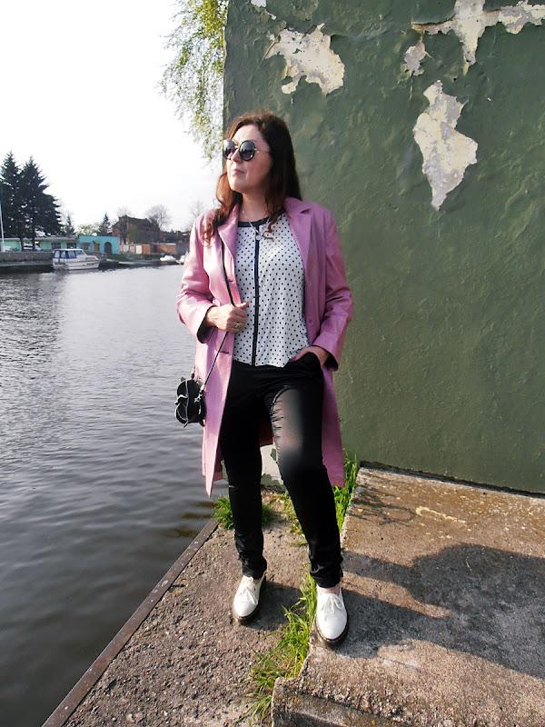 Różowy płaszcz/ pink coat