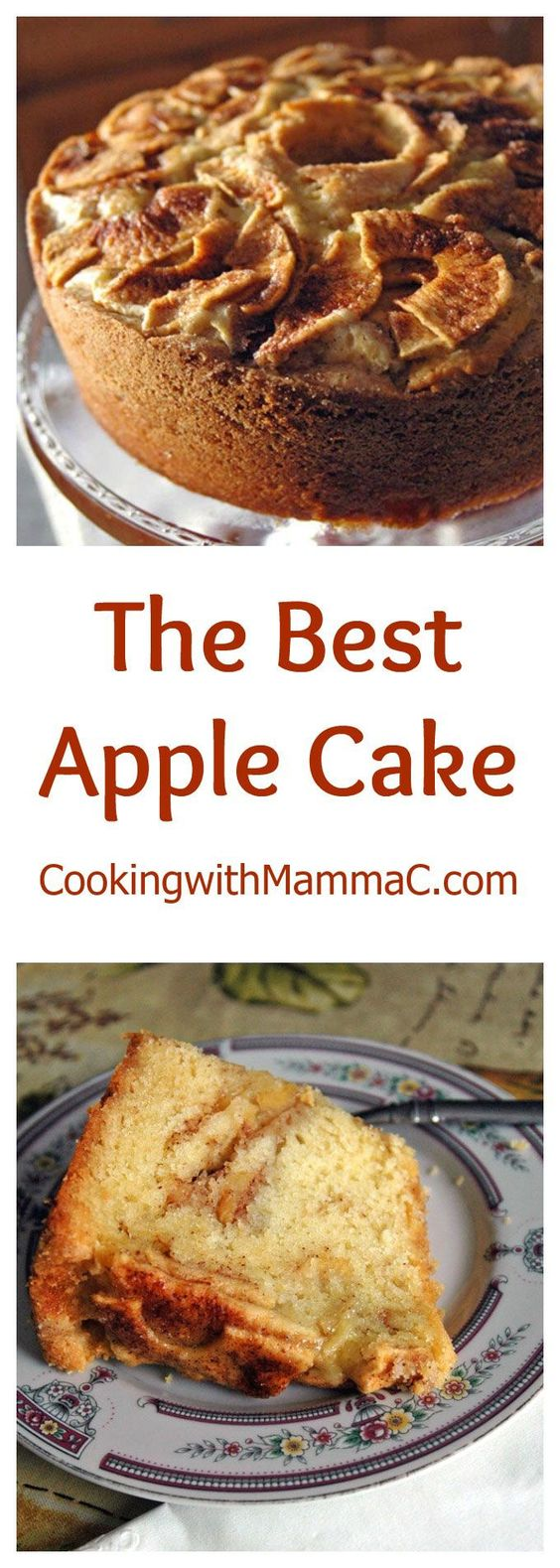 The Best Apple Cake has the texture of moist pound cake, a crunchy crust, plus the ribbons of gooey cinnamon sugar you'd find in coffee cake. Parve