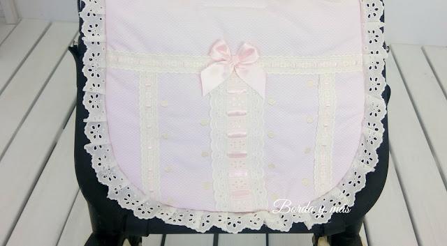 vestidura bugaboo puntillas rosa