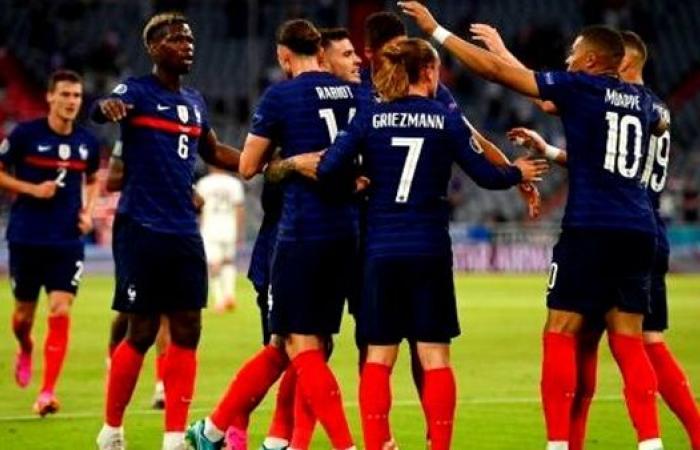 مباراة فرنسا والمجر يورو 2020