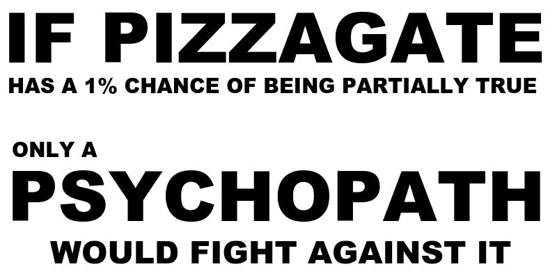 pizzagate meme test psychopath