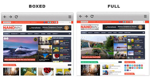 NanoMag Theme WordPress Magazine SEO Friendly