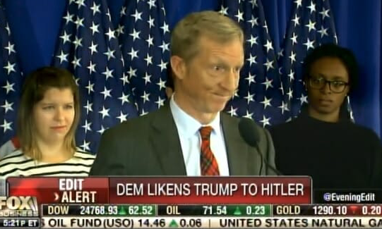 Top Democrat Donor Tom Steyer Compares Trump to Hitler… Then Doubles Down on Comparison (VIDEO)