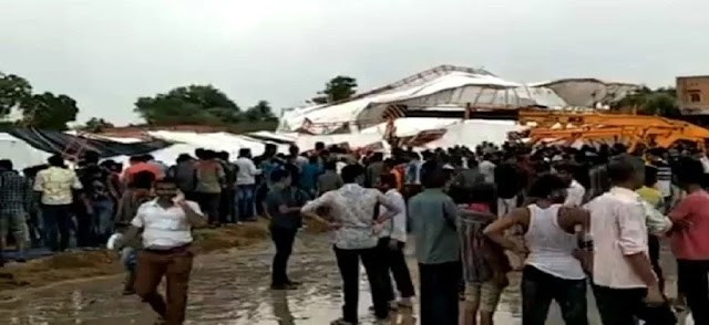 Barmer Tragedy, 18 killed, more than 50 harmed after tent collapses during religious assembling in Rajasthan's Barmer.
