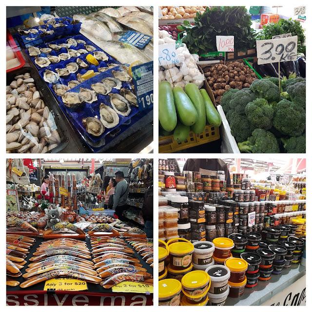 【墨尔本购物】墨尔本亲子游@Day8 Part 1 墨尔本必逛维多丽亚女王市场Queen Victoria Market| 必吃生蚝+甜甜圈