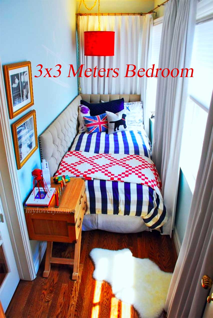 Meters Bedroom Layout Planning Small Room Lovely Home