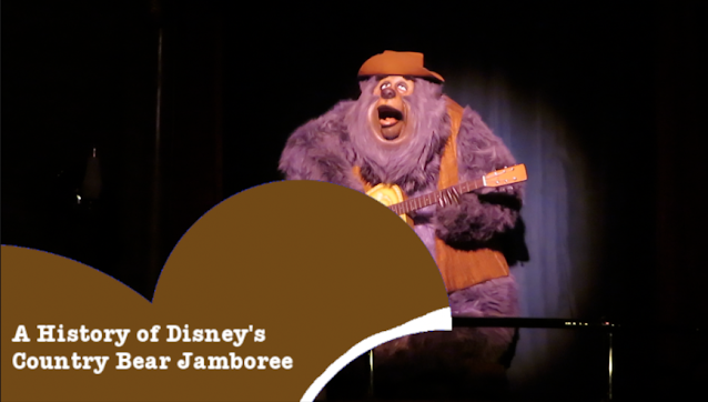 A History of Disney's Country Bear Jamboree