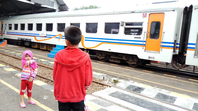 Mudik Menggunakan Kereta Api Tetap Nyaman dan Bahagia Bersama Anak-Anak