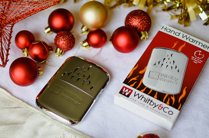 outdoorsy family gift guide, Whitby hand warmer