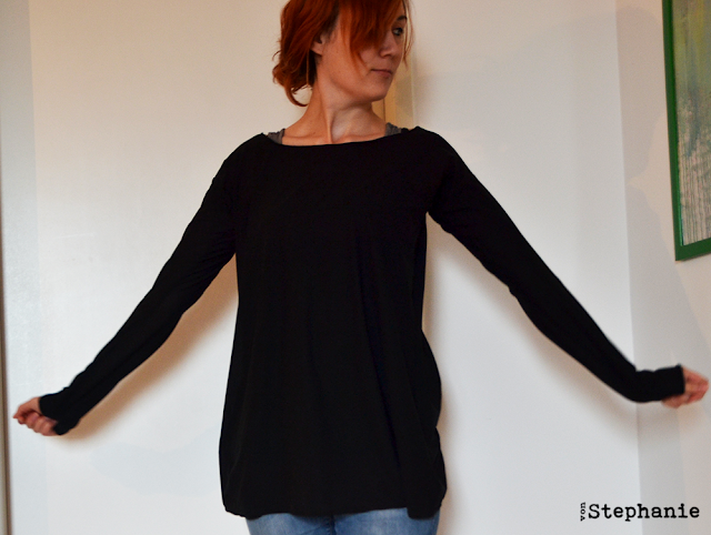 Longsleeve Basic | vonStephanie.blogspot.com