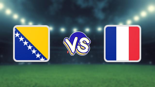 مباراة فرنسا ضد البوسنة الهرسك