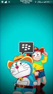 BBM MOD Doraemon Transparant V3.1.0.25