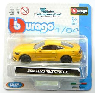 Bburago, 2015 Ford Mustang GT