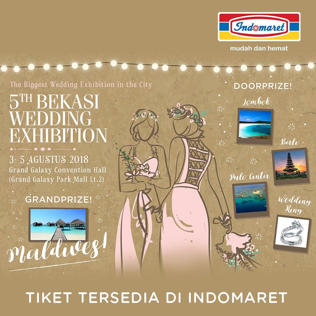 Indomaret - Promo Event 5th Bekasi Wedding Exhibition ( 03 - 04 Agustus 2018)