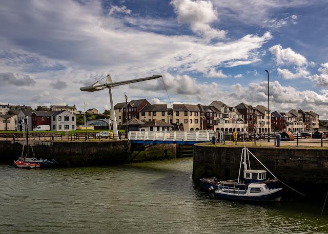 Photo of Ellenfoot Bridge over Maryport Harbour