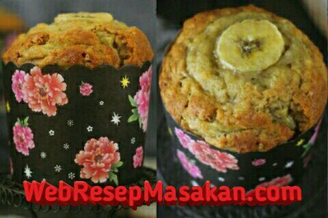 Banana Muffin ncc, Resep banana muffin,