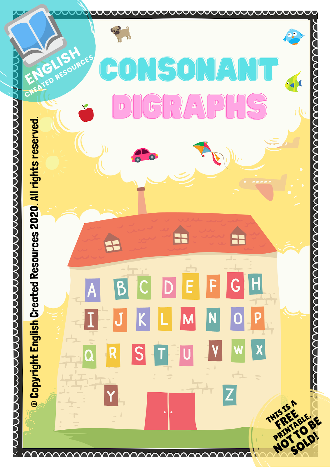 Consonant Digraphs Worksheets [ 1600 x 1131 Pixel ]