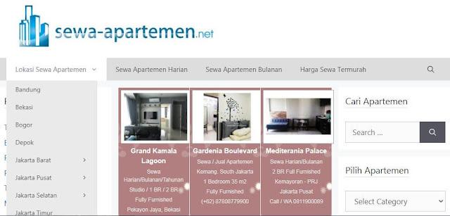 situs sewa apartemen terbaik