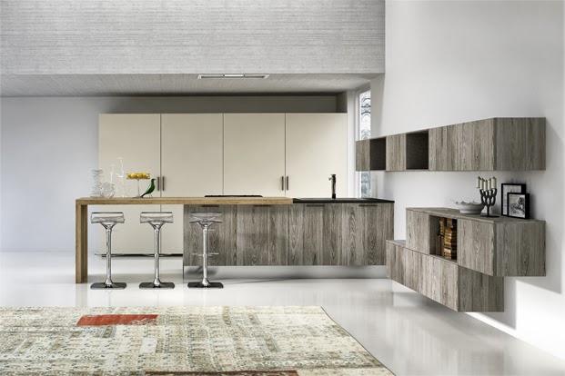 Diseño con península: una alternativa muy práctica - Cocinas ...