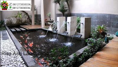 asa tukang kolam ikan koi minimalis jakarta barat, timur, selatan, utara, pusat,  jasa pembuatan kolam ikan koi minimalis,desain kolam ikan koi
