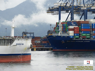 Essayra e CMA CGM Jacques Junior