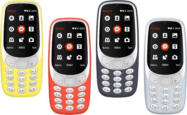 فعاليات مؤتمر MWC 2017 | نوكيا تعلن عودة الأسطورة Nokia 3310