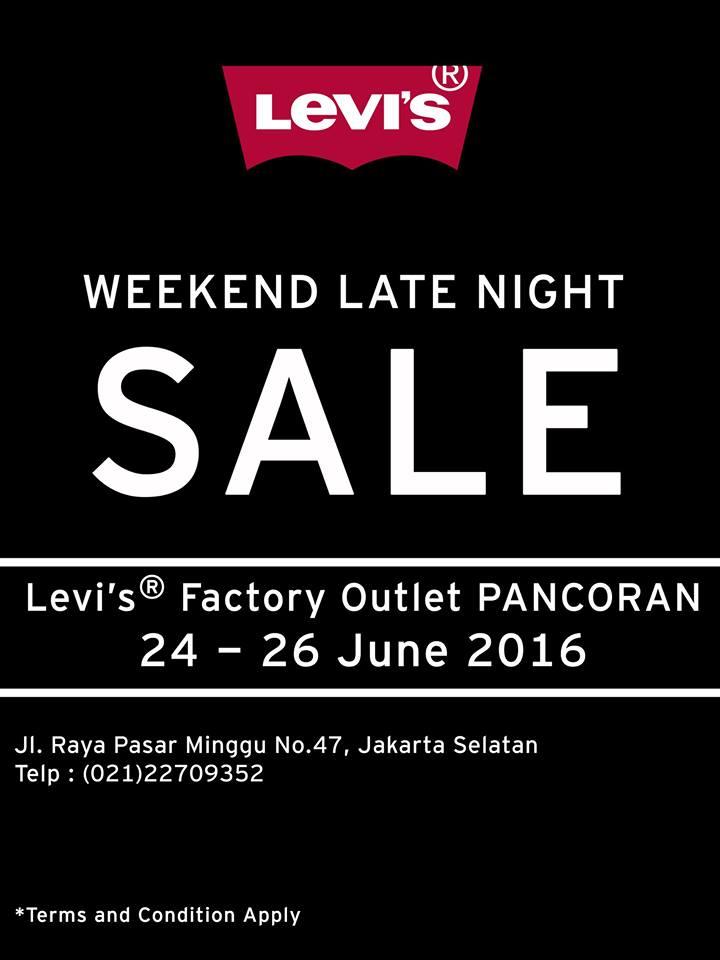 Promo LEVI'S Weekend Late Night Sale