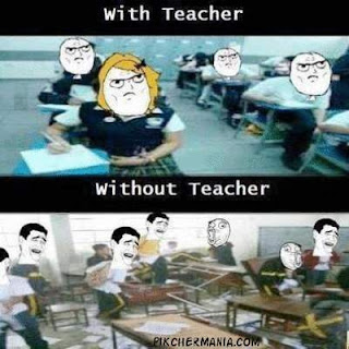 students funny behavior