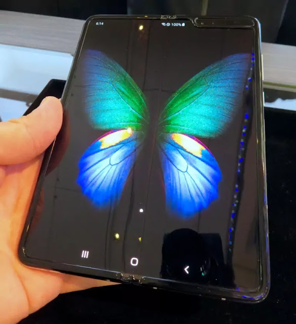 Galaxy Fold what it's like to use the first foldable phone