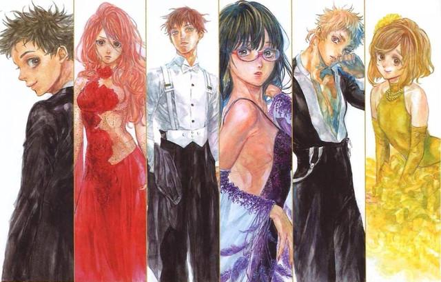 Mais dois novos personagens para o anime Ballroom e Youkoso foram revelados