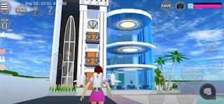 ID Rumah Hitam Putih Di Sakura School Simulator