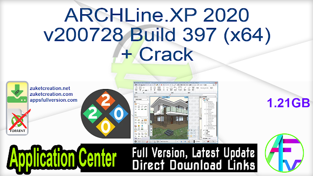 ARCHLine.XP 2020 v200728 Build 397 (x64) + Crack