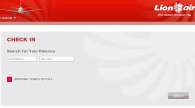 Lion Air Web Check In
