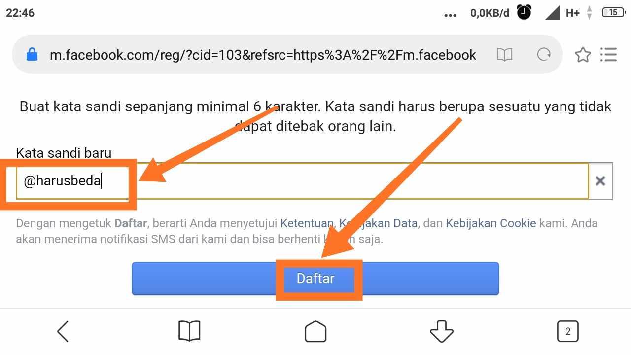 Cara memperbanyak akun Facebook