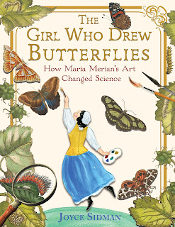 Review of The Girl Who Drew Butterflies by Joyce Sidman