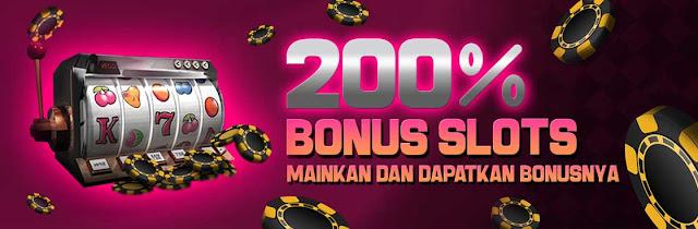 promo slot 200% new member