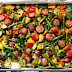 One Pan Healthy Sausage and Veggies Recipe
