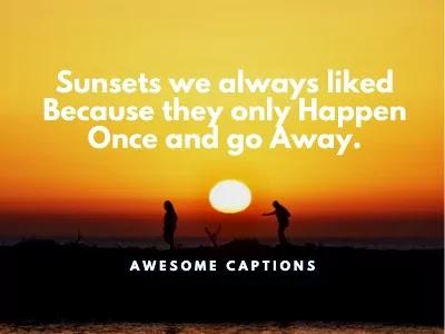 beautiful sunset quotes
