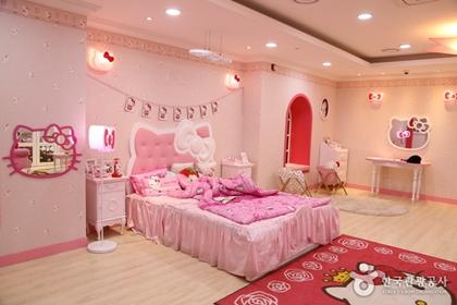 เฮลโลคิตตี้ไอร์แลนด์ (Hello Kitty Jeju Island) @ www.visitkorea.or.kr