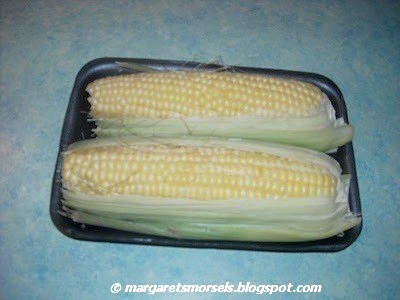 Margaret's Morsels | Microwave Corn-on-the-Cob