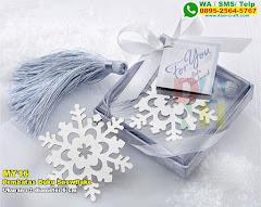 Pembatas Buku Snowflake