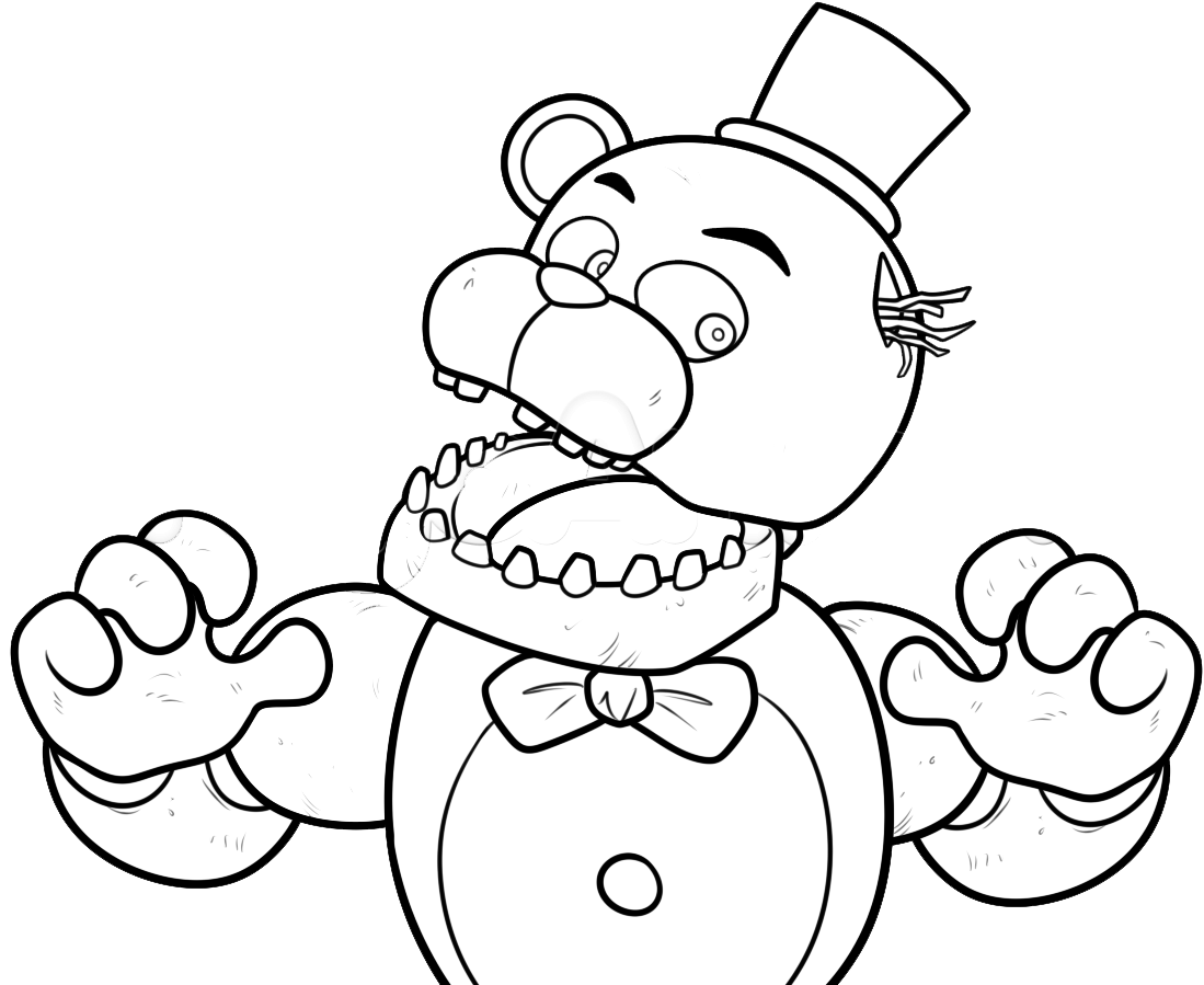 fnaf cute animatronics coloring pages - photo #15
